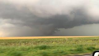 Severe storm SW of Lubbock TX