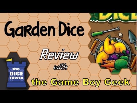 The Game Boy Geek (Dice Tower) Reviews Garden Dice