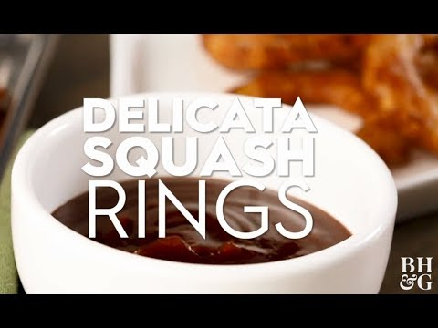 Delicata Squash Rings | Cooking: How-To | Better Homes & Gardens