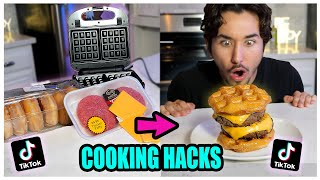 We TASTED Viral TikTok Cooking Life Hacks... (MOUTH WATERING!) *Part 3*