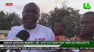 Asene Akroso Manso: Mp, Dec Cut Sod For Twelve Projects