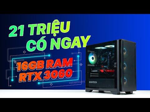 Sỡ hữu ngay PC GAMING giá chỉ 21 TRIỆU có ngay 16GB RAM và RTX 3060