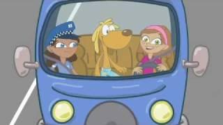Ponte el cinturón siempre que subas a un coche. Consejo de Archi en seguridad vial
