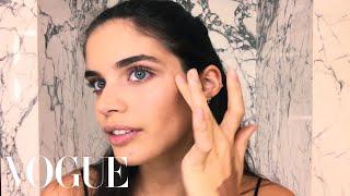 Victoria's Secret Model Sara Sampaio's Easy Bombshell Makeup Look   Beauty Secrets   Vogue
