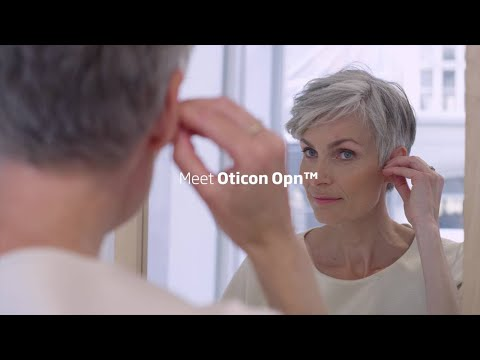 Hear speech clearly with NEW invisible hearing aids from Oticon
