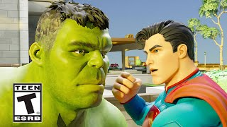 Fortnite Hulk meets Superman Trailer