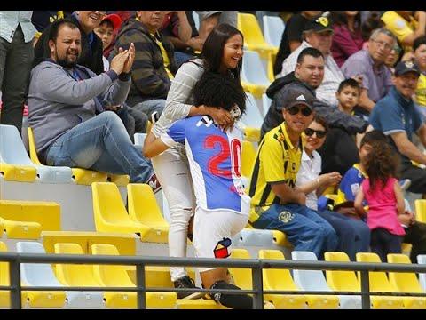Eduard Bello marca gol y le pide matrimonio a su novia // Everton 3-2 Antofagasta