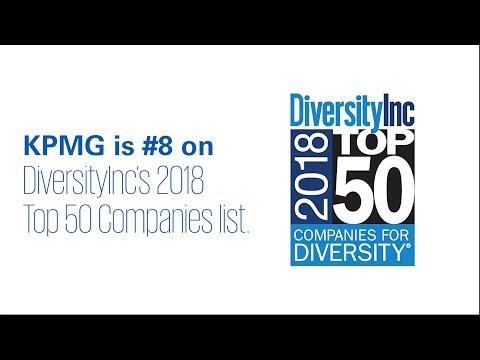 KPMG Ranks No. 8 on DiversityInc's Top 50 Companies for Diversity list