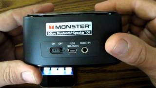 Review - Monster Clarity HD Micro Bluetooth Speaker