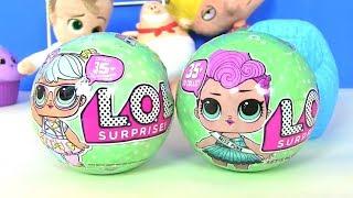 Куклы Лол LoL Surprise ЛОЛ и Испорченные продукты #Видео для детей! Мультик с игрушками!