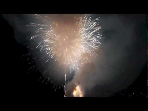 Fiori di fuoco a Laveno