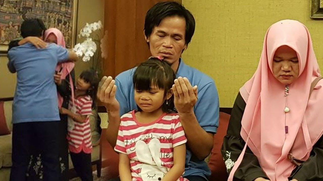 Suaminya Dibebaskan Seusai Disandera 2 Bulan 26 Hari, Istri Usman Nangis: Terima Kasih Pak Presiden