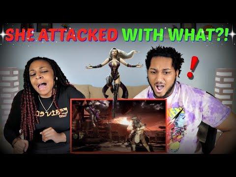 Mortal Kombat 11 Kombat Pack: Sindel Gameplay Trailer REACTION!!
