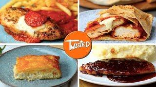 12 Chicken Dinners For Beginners | Chicken Parmesan | Chicken Fajitas | Twisted