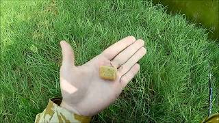 Ловля голавля на корочку хлеба со дна