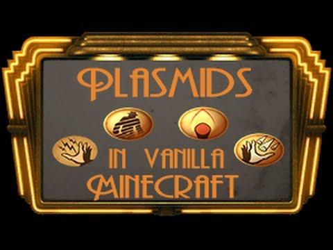 Plasmids in vanilla Minecraft !!! (1.8)