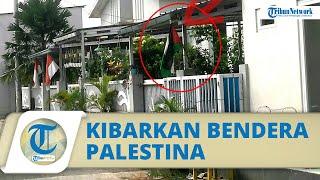 Viral Warga Depok Justru Kibarkan Bendera Palestina Jelang HUT Kemerdekaan RI, Polisi Turun Tangan