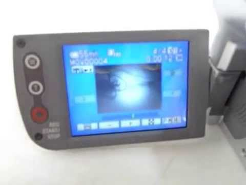 testing handycam dcr-hc36