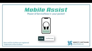 Mobile Assist: ServiceNow Reports and Dashboard