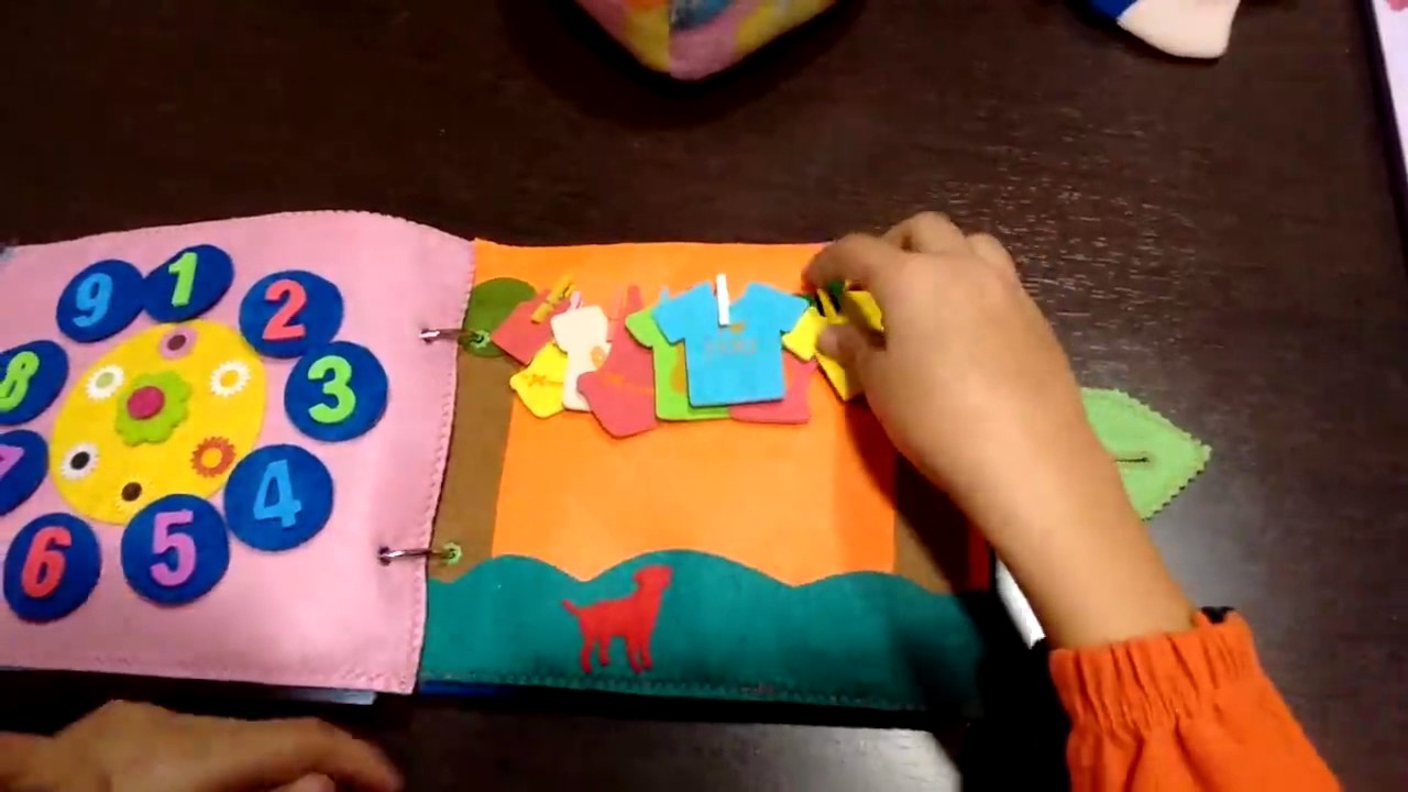 Quiet Book math libros silenciosos matemáticas para niños
