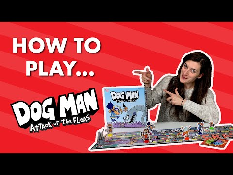 Youtube Video for Dog Man Attack of the Fleas - The Board Game