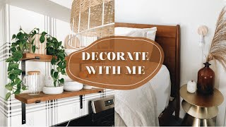 DECORATING YOUR HOUSE WITH THINGS YOU ALREADY HAVE // MID CENTURY MODERN // SPRING HOME DECOR