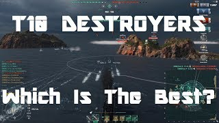 The Best T10 Destroyer?