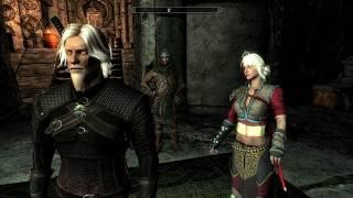The Elder Scrolls V: Skyrim ES Mod na Ciri z Wiedźmina 3