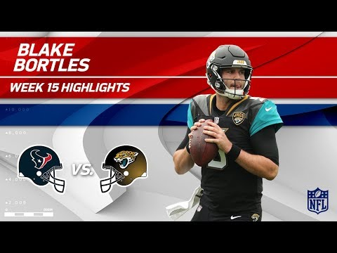 Blake Bortles' 326 Pass Yards & 3 TDs vs. Houston | Texans vs. Jaguars | Wk 15 Player Highlights