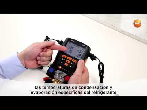 Como usar un testo 570: analizador de refrigeración digital