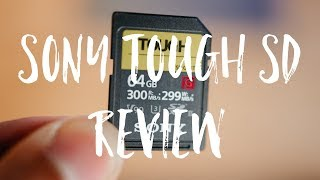 Sony Tough SD Card Review | Best SD Cards in the Market
