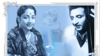 G M Durrani, Geeta Dutt - Ho gaye barbaad hum achha huaa