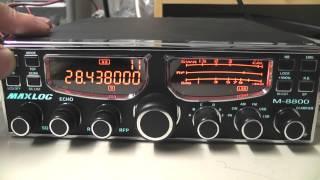 Midland 79-290 CB Radio AM SSB Review / Overview - Самые