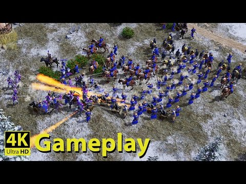 Age of Empires 3 - 4K GAMEPLAY