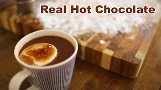 Hot Chocolate With Homemade Honey Marshmallows