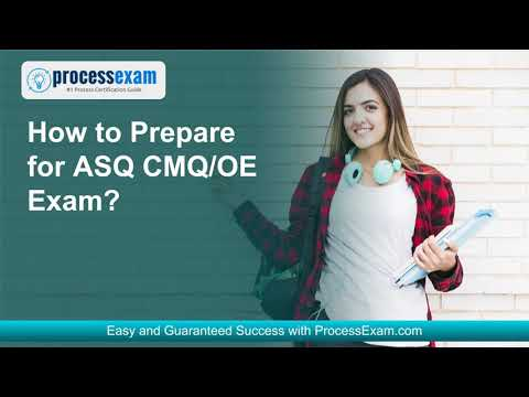 Give Your Career a Boost with ASQ CMQ/OE Certification Exam ...