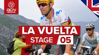 Vuelta a España 2019 Stage 5 Highlights: Javalambre Observatory Summit Finish | GCN Racing