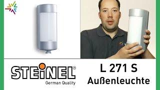 """""""STEINEL L 271 S"""" Design Sensor Außenleuchte [watt24-Video Nr 76]"""