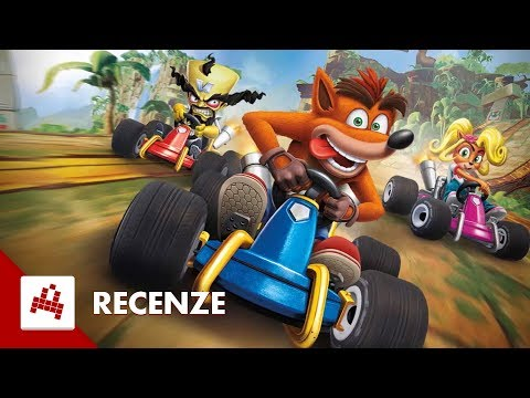 Crash Team Racing Nitro-Fueled - Recenze