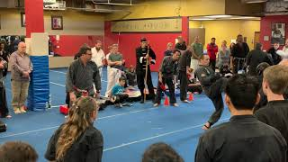 Master Mike sparring matches