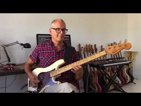Pick bass jam in D - Bobby Vega style