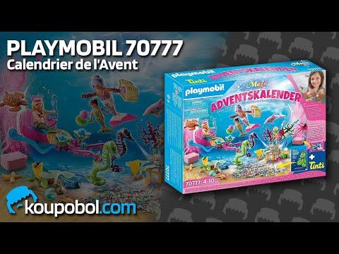 Vidéo PLAYMOBIL Christmas 70777 : Calendrier de l'Avent - Le monde des sirènes