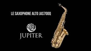 Jupiter Saxophone alto étudiant verni JAS700Q - Video