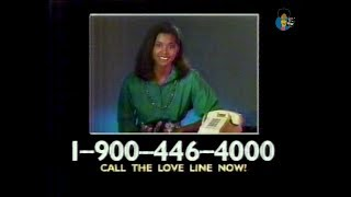 Late Show 900 Number Ads (c. 1990)
