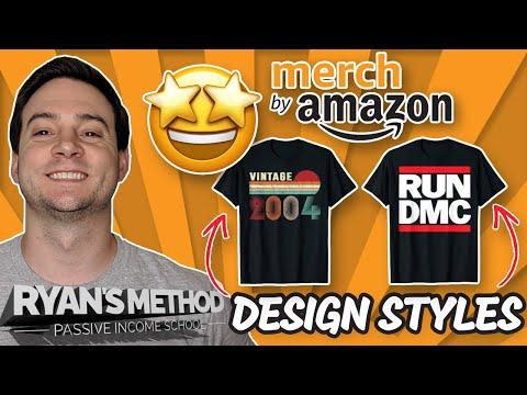 16 Best Selling Amazon Merch T-Shirt Design Styles