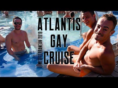 Atlantis Gay Cruise – Mediterranean 2018 #thewayweplay #gaycruise #atlantiscruises