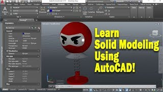 Learn 3D Modeling using AutoCAD
