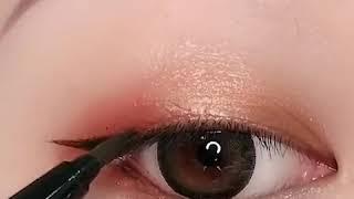 Eye Makeup #tutorial Korean Look😍