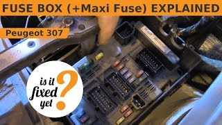 peugeot 307 engine fuse box fault car wiring diagrams explained u2022 rh ethermag co  peugeot 307 engine fuse box fault
