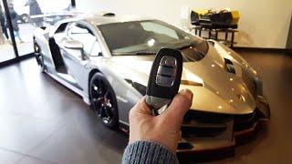 Lamborghini Veneno: In-depth Exterior And Interior Tour! W/ Cold Start!